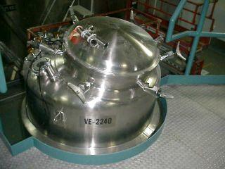 350 Gallon Stainless Steel Mix Vessel Tank Braun Fermenting in NJ
