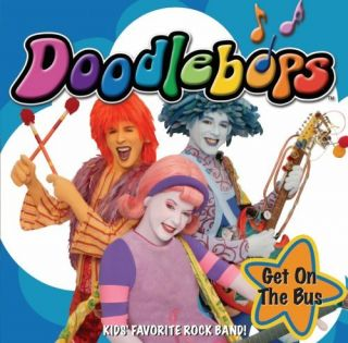 The Doodlebops Get on The Bus CD