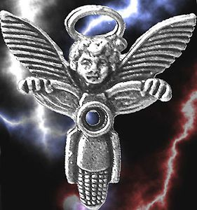 CLOSEOUT Sale Motorcycle Guardian Angel Halo Vest Pin