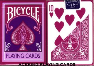 1 Deck Bicycle Berry Pastel Playing Cards Poker