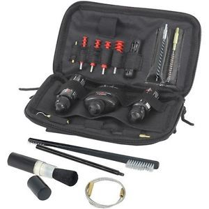 Bushmaster Field Tactical Cleaning System Kit Ar15 22 45 Caliber MOLLE 17 Piece