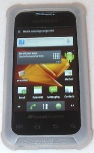 Samsung Galaxy Prevail SPH M820 Black 3G Cell Phone Boost Mobile Smartphone