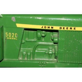 john deere wiring diagram on popscreen vintage john deere 5020 tractor 585 square throw baler antique die cast metala