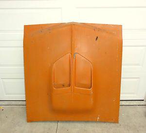 1970 Dodge Coronet Super Bee Original Hood w Scoops Orange