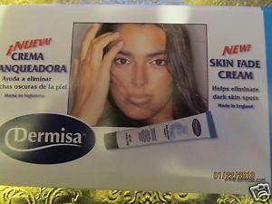 Dermisa Skin Fade Cream Crema Blanqueadora 1 78 oz Sun Spots Liver Spots Freckle