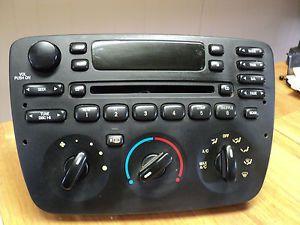 01 02 03 Taurus Sable AC Heat Heater Temperature Control Stereo CD Radio