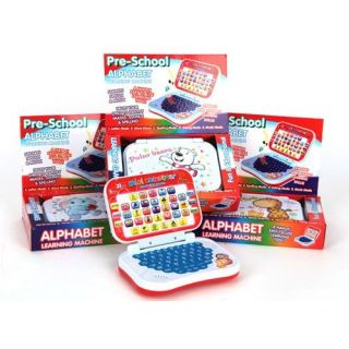 Kids Pre School Alphabets Leaning Laptop Style Educational Toy Age 3 Gift