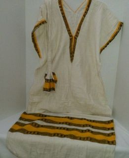 Ethiopian Coffee Dress 100 Cotton