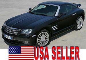 Chrysler Crossfire Mopar Germany Clear Side Marker Lights 2pc Set