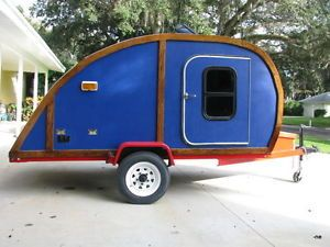 Teardrop camper Travel Trailer