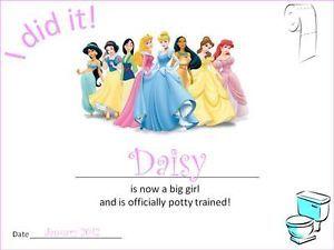 Personalised Disney Princess