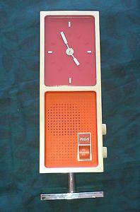 Vintage RCA Transistor Clock Radio Retro 1970