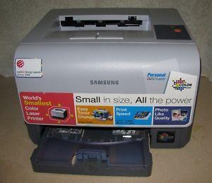 Samsung CLP 300 Color Laser Printer