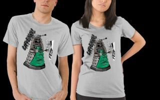 Doctor Who Dalek as A Coffee Espresso Starbucks Server Satire RIPT Women Shirt