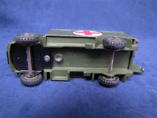 Vintage Dinky Toys Army Military Ambulance Truck 626