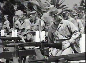 Camp Matthews Rifle Training USMC Marine Corps