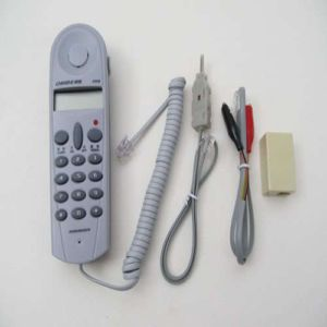 Telephone Phone Butt Test Tester Lineman Tool Cable Set Kit Home Equipment