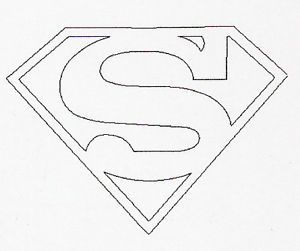 Custom Steel Stamp Tool 8mm Tall Superman Logo Steel Metal Marking Stamp Punch