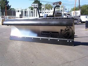"""Snow Dogg Plow MD Snow Plow Kit Complete Snow Plow Kit 7'6"""" MD Plow Stainless St"""