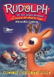 Rudolph Red Nosed Reindeer Island of Misfit Toys 2001 Dart Promo Card P 1