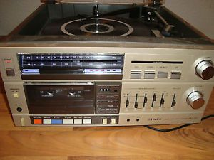 Vintage Fisher MC 720 Stereo Reciever Audio Component System
