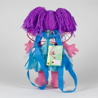 "14"" Sesame Street Muppets Abby Cadabby Plush Backpack Stuffed Toy Licensed"