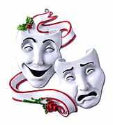 Theater Theatre Comedy Tragedy Masks 2012 Christmas Ornament Personalized