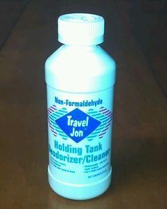 Travel Jon Holding Tank Treatment 1 8oz Liquid RV motorhome camper Blackwater