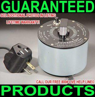 Variac for Vintage Tube Audio Power Amp Antique Ham Radio Table Fan Light Dimmer