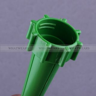 12 x Garden Watering Spike Plant Flower Waterers for Bottle Irrigation System