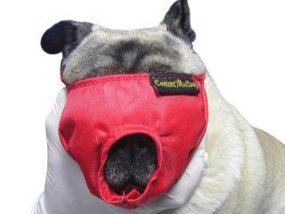 Vet Buster Bozal Nylon Para Perros Braquicefalicos Verde Talla L