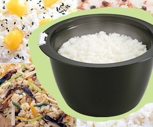 Akebono Microwave Rice Cooker BL 796 Instant Rice Steamer Microwaveable Rice Pot