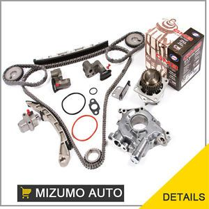 Nissan Altima Maxima 350Z Infiniti G35 VQ35DE Timing Chain Kit Water Oil Pump