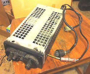 Vintage Narco Nav com Mark 12 Aircraft Communications Radio Vintage Collectable