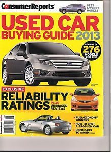 consumer reports ratings pricing guide october 2012 232 cars trucks suvs. Black Bedroom Furniture Sets. Home Design Ideas