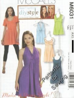 Pattern McCall's Sewing Woman Top Blouse Dress Size 4 12