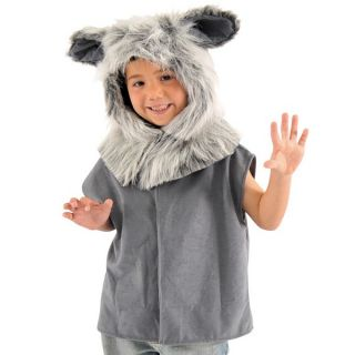 Kids Big Bad Wolf Tabard Fancy Dress Book Week Costume