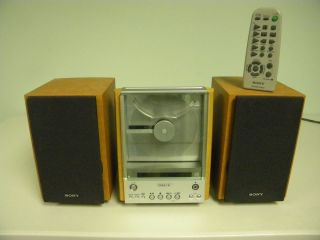 Sony CMT EX1 Compact Component Bookshelf Stereo System