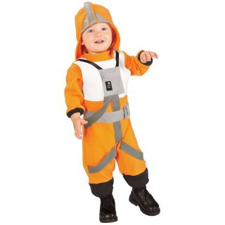 X Wing Fighter Pilot Costume Star Wars Baby Toddler Luke Skywalker Halloween
