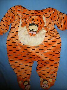 Disney Tigger Halloween Costume Infant Baby 6 to 9 Months Sleepwear One Piece