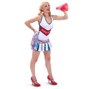 Sexy Sissy Playboy Cheerleader Adult Baby Costume Dress Patriotic Plus x 2X