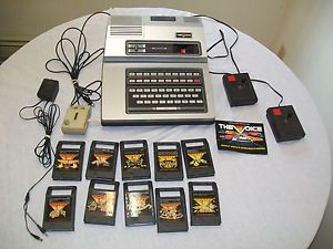 Vintage Magnavox Odyssey 2 Video Game Console Games Huge Lot The Voice Module