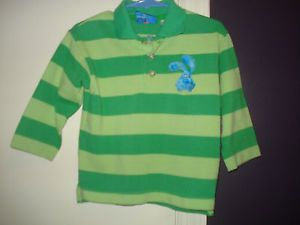 Blues Clues Kids Steve Shirt Toddler 2t Costume Halloween Green