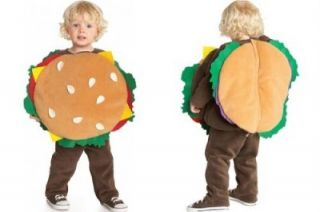 Old Navy Baby Halloween Costume Cheeseburger Hamburger 6 12 Months