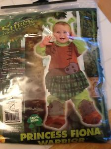 Shrek Princess Fiona Costume Halloween Baby 6 12 mos NIP