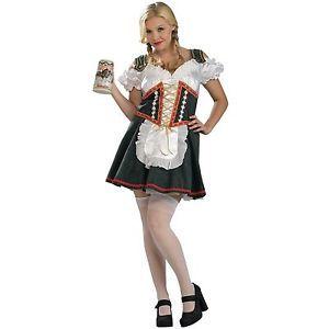 German Beer Garden Girl Sexy Sissy Adult Baby Octoberfest Costume Dress 14 16