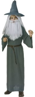 The Hobbit Lord of The Rings Gandalf Child Boys Wizard Costume Party Halloween