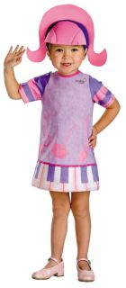 Girls Dee Dee Doodlebops Costume Dress Up New DG6438