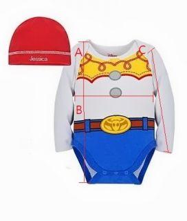 Baby Unisex Cartoon Character Costume Bodysuit Hat 2 Pcs Set 7 Style 9M 36M
