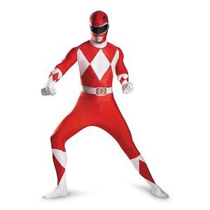Adult Red Power Ranger Costume